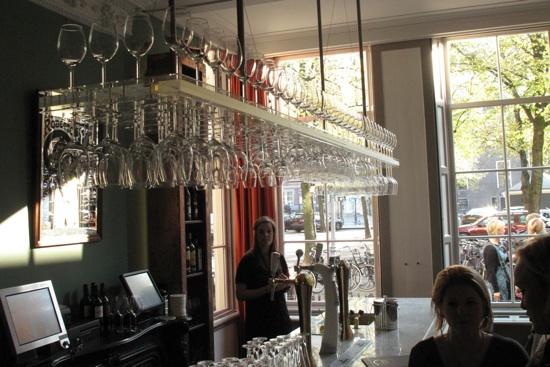 restaurant brass utrecht bar verlichting